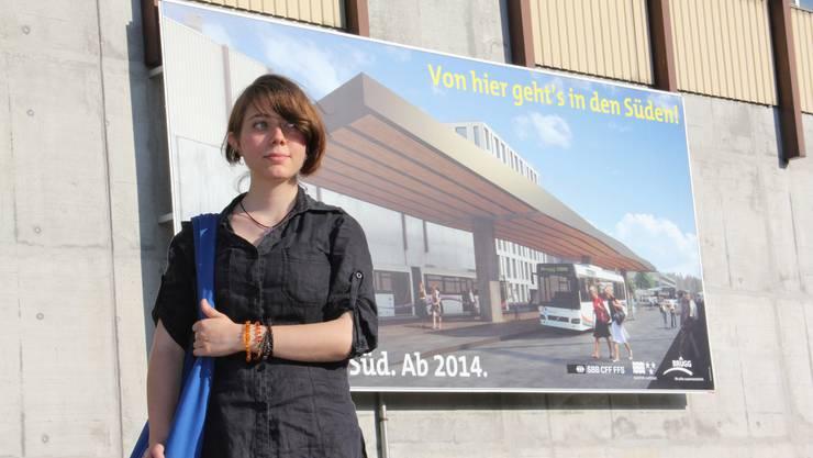 Festrednerin Zoé Pedrozzi