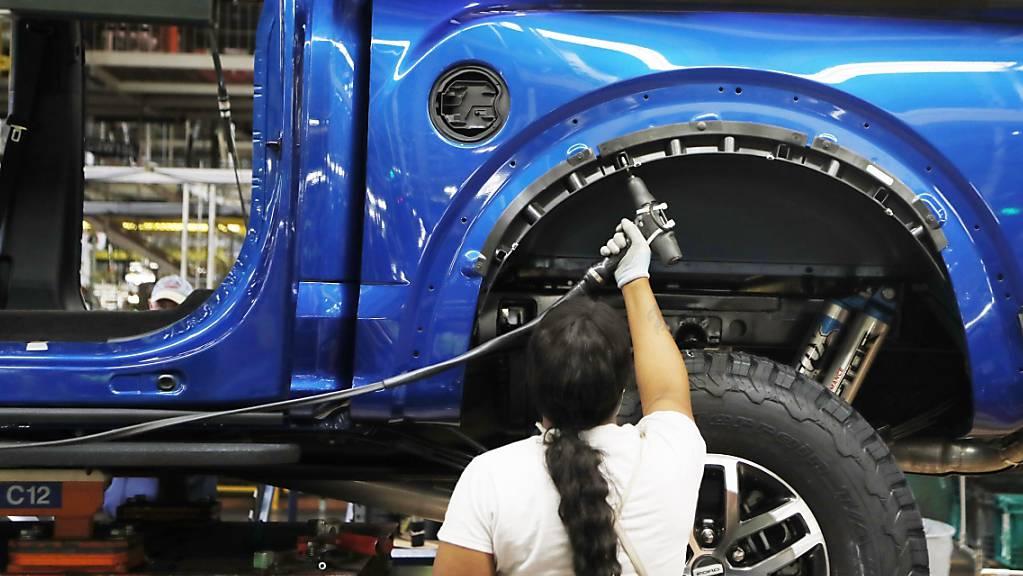 US-Industrie wächst so kräftig wie seit drei Jahren nicht mehr. (Archiv)