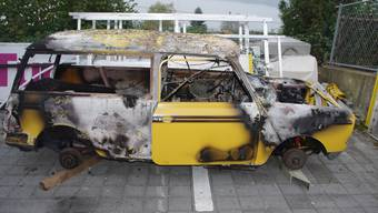 Autobrand in Beinwil am See