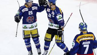Biels Finne Toni Rajala (links) hat in den letzten fünf Spielen immer mindestens ein Tor erzielt