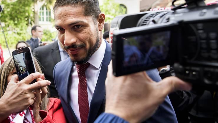 Aufatmen bei Paolo Guerrero: Perus Captain darf nun doch zur WM