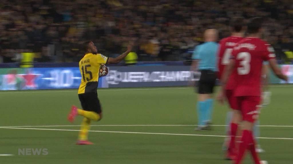 Champions League Zwischenfazit: YB wird besiegt, ist aber noch nicht am Boden