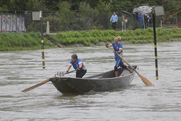 Fabienne Kohler und Eveline Müller gewinnen die Silbermedaille bei den Frauen