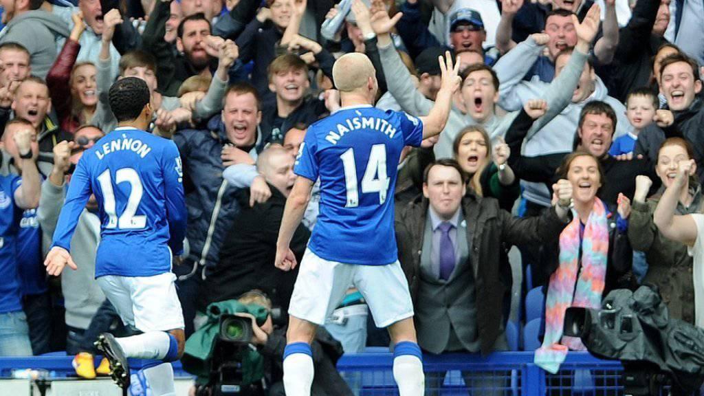 Drei Tore gegen Chelsea: Steven Naismith war der gefeierte Akteur bei Everton