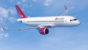 Bei Airbus gibt es kleine Flugzeugtypen wie den Airbus A320neo, mittlere wie den Airbus A330 und grosse wie den Airbus A350. (Archivbild)
