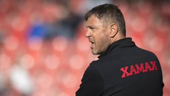 Xamax-Trainer Stéphane Henchoz tritt mit seinem Team erst am Donnerstag gegen Sion an