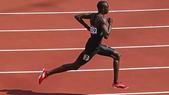 David Rudisha sorgte für den ersten Leichtathletik-Weltrekord