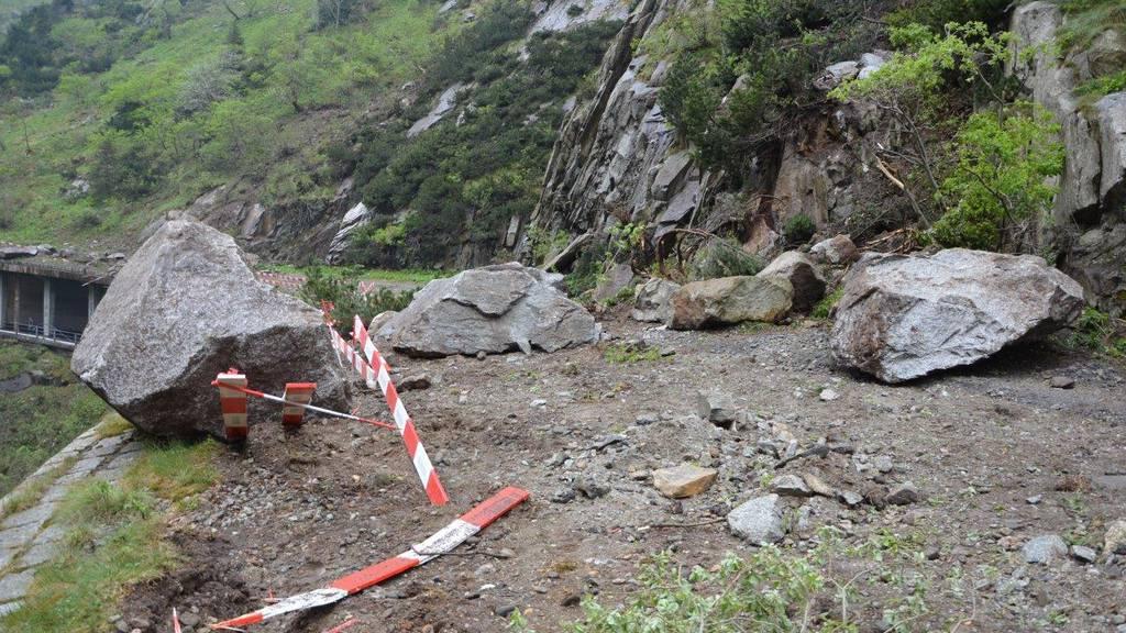Gotthardpass mehrere Wochen lang gesperrt