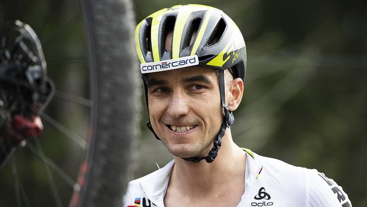 Hat nicht viel für US-Präsident Donald Trump übirg: der Schweizer Mountainbike-Weltmeister Nino Schurter. (Archivbild)