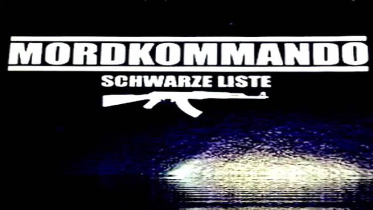 Cover des Hass-Albums der Neonazi-Band «Mordkommando».