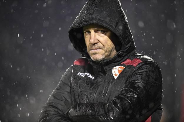 Ernüchterung pur bei Stéphane Henchoz: Er ist nicht mehr Trainer beim FC Sion.