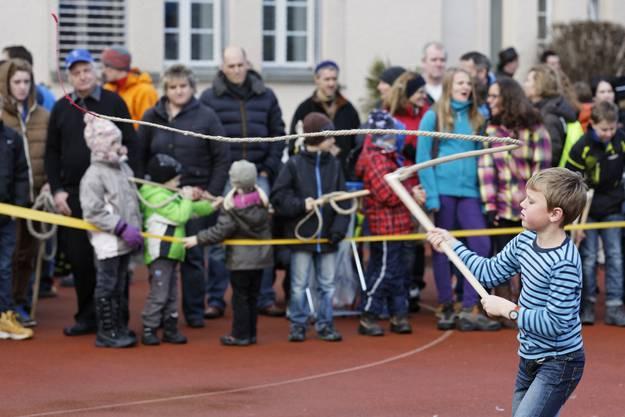 Die Teilnehmer wurden in vier Alterkategorien eingeteilt.