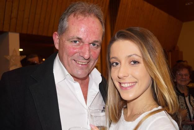 9_Peter Wurzer mit Tochter Rebecca freuten sich an diesem ersten Januartag