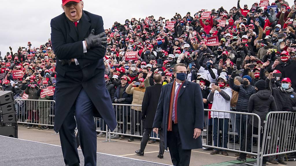 New York Times: Trump-Wahlparty mit 400 Leuten im Weissen Haus geplant