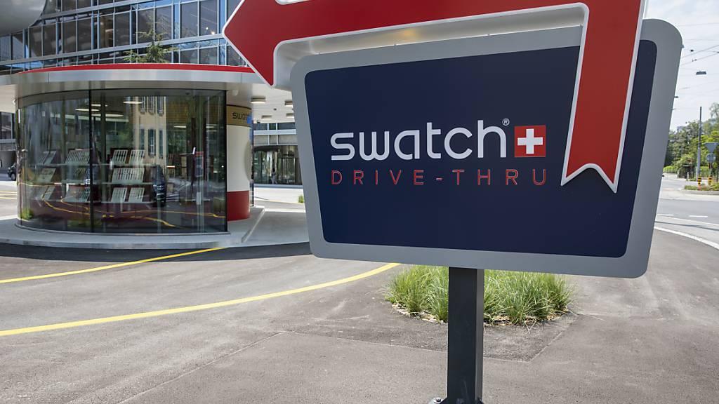 Die Swatch Group siegt im Markenstreit mit Formel-1-Star Lewis Hamilton. (Archiv)