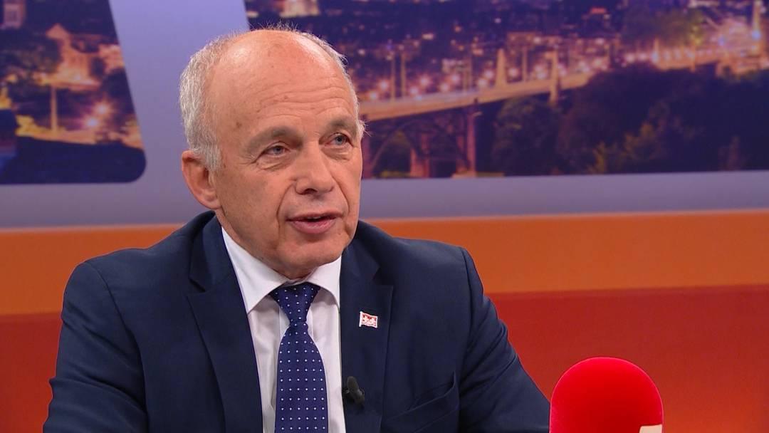 Die ganze TalkTäglich-Sendung mit Bundespräsident Ueli Maurer zum AHV-Steuer-Deal.