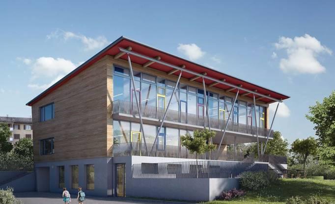 So wird der Neubau aussehen.