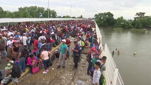 2000 Migranten kehren zurück nach Honduras