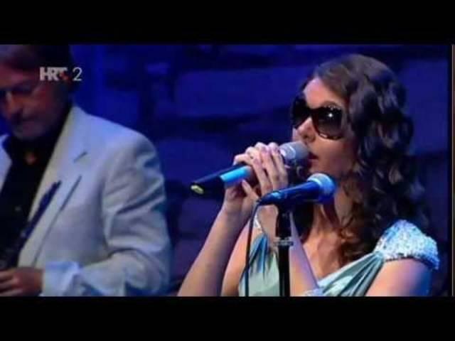 Bernarda Bruno -  Auftritt im kroatischen Sibenik vor drei Jahren.