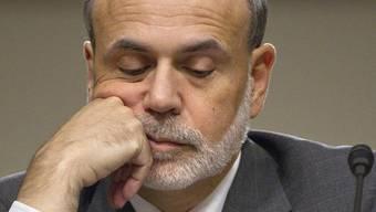 US-Zentralbankchef Ben Bernanke während der Anhörung