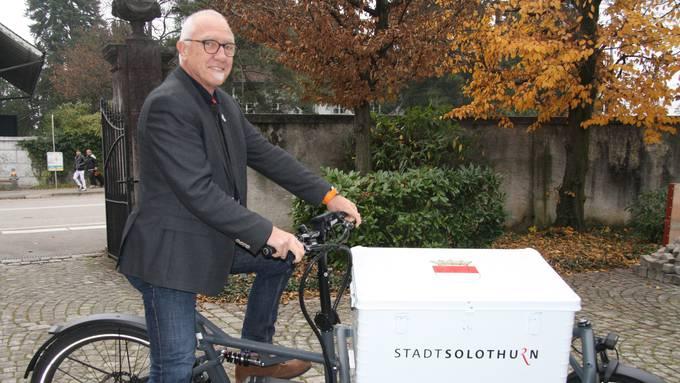 Stadtschreiber Hansjörg Boll steuert das Jubiläumsjahr 2020 mit einem prallen Programm-Package an