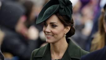 """Kate, Herzogin von Cambridge, wird für einen Tag stellvertretende Chefredaktorin der britischen Ausgabe der """"Huffington Post"""" (Archiv)."""