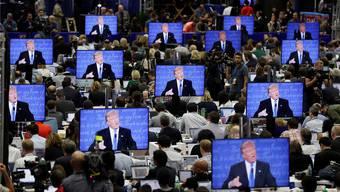 175000 unterschiedliche Trump-Botschaften gezielt und individualisiert verbreitet: Big Data im US-Wahlkampf.Keystone/AP/John Locher