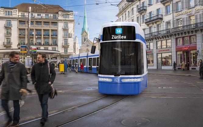 Flexity-2-Tram von Bombardier ersetzt.
