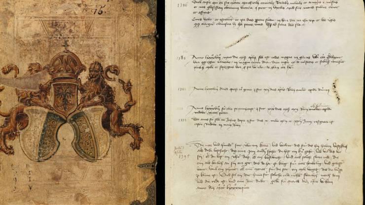 Das älteste Bürgerbuch der Stadt Luzern aus dem Jahr 1357 mit der ersten Erwähnung der Schlacht bei Sempach 1386 ist nun online einsehbar.