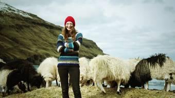 Sie ist auf die Idee mit den tierischen Kamera-Trägern gekommen.