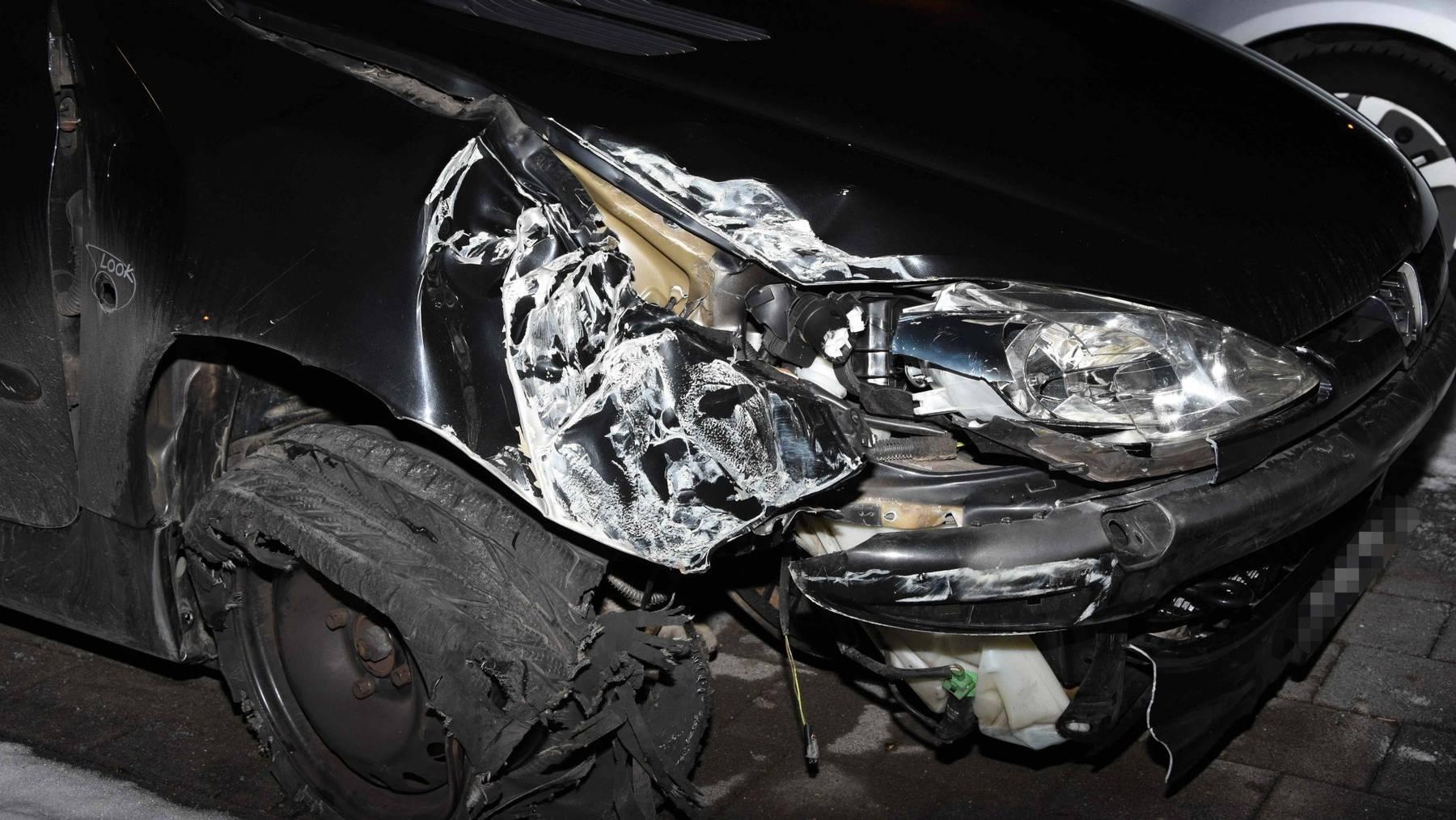 Der 16-Jährige Unfallverursacher hatte keinen Führerausweis.