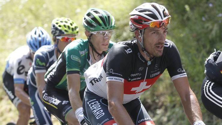 Cancellara im Jahr 2011: Er fuhr damals mit einer Ausnahmebewilligung, um verbotene Mittel einnehmen zu dürfen.