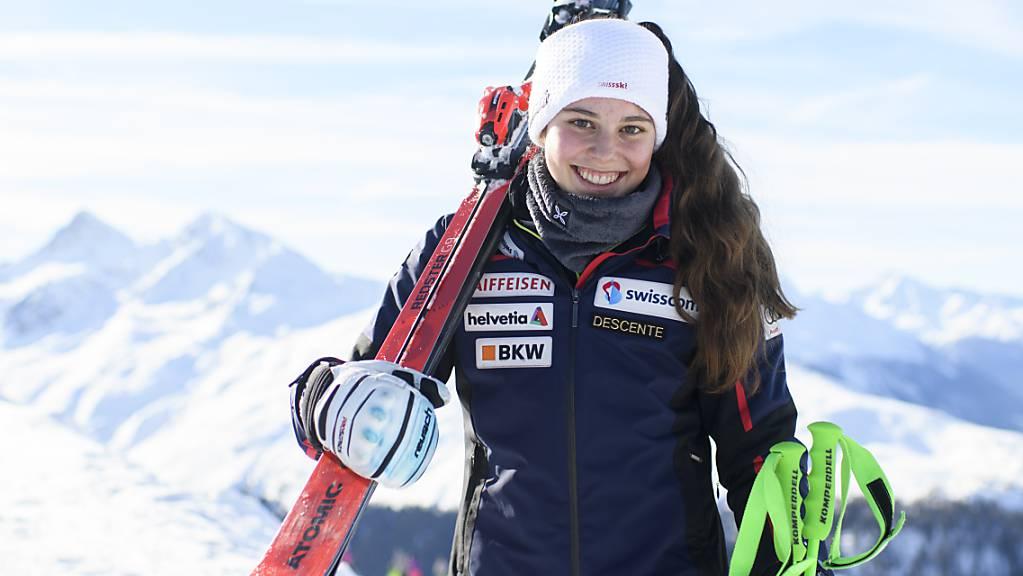 Stephanie Jenal gewinnt erstmals ein Europacup-Rennen