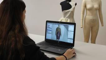 Mit Avataren in der Textil- und Kleiderbranche können Material, Zeit und Herstellkosten gespart werden.
