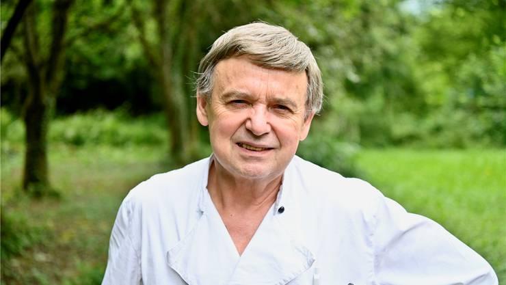 Der gelernte Koch Franz Aerni wirtet seit 41 Jahren im Restaurant Einsiedelei.