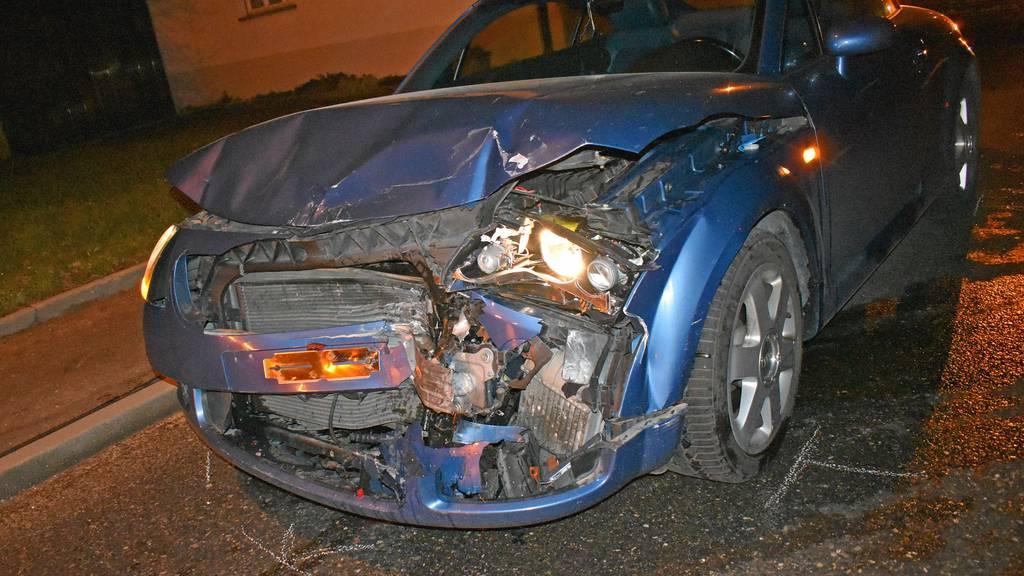 Drei Autos in Unfall involviert