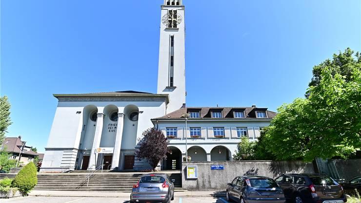Die Friedenskirche hat ihr Geläut nachts eingestellt.Bild: bko