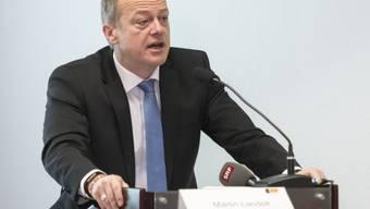 Der Chef der Bürgerlich-Demokratischen Partei Schweiz (BDP), Martin Landolt, will im Jahr 2020 Platz für einen Generationenwechsel an der Parteispitze machen. (Archivbild)