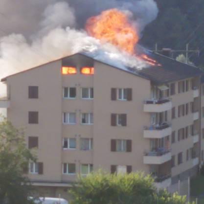 In Littau brennt es.
