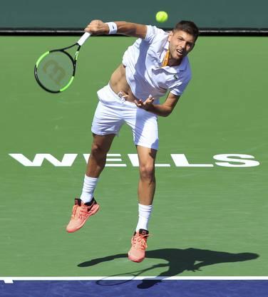 Filip Krajinovic (ATP 33): Der 26-jährige Serbe steht erstmals überhaupt im Basler Haupttableau.