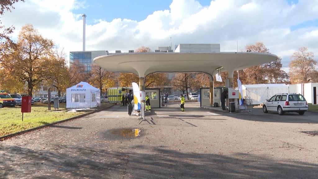 Coronavirus: Stadt Thun eröffnet zweites Corona Drive-in im Kanton Bern