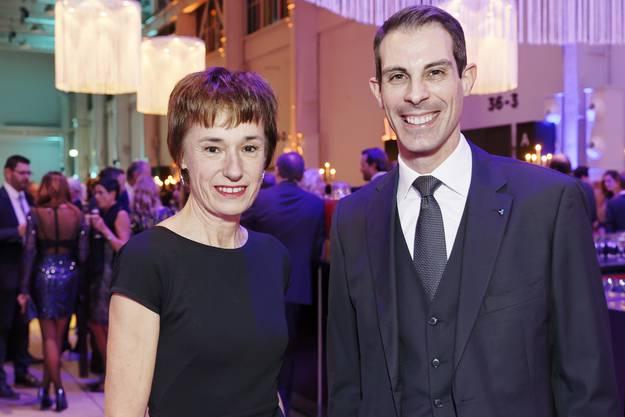Ruth Humbel und Thierry Burkhart.