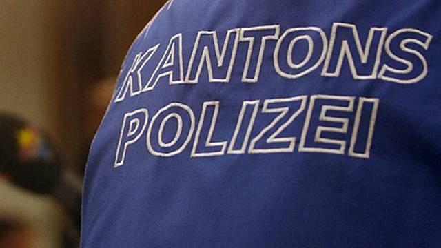 Auch Kantonspolizisten im Einsatz (Archiv)