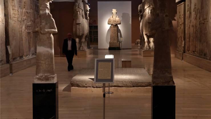In Mossul wütete der IS, in Bagdad ist das Museum wieder offen.Karim Kadim/Key