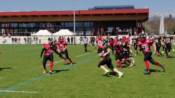 Die Argovia Pirates verbrachten in Genf einen erfolgreichen Sonntag. (Bild: Argovia Pirates)