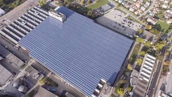 Photovoltaikanlage auf dem Riverside-Areal in Zuchwil ist eingeweiht