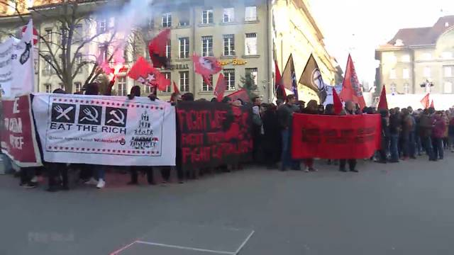 1500 demonstrieren gegen WEF