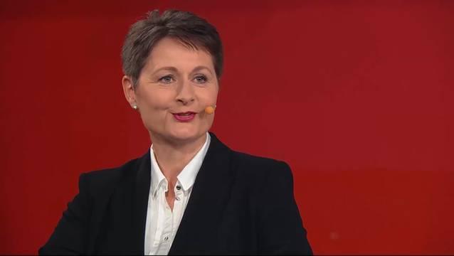 Um ihren Satz geht es: Franziska Roth (SVP), Gerichtspräsidentin in Brugg AG, will in die Aargauer Regierung.