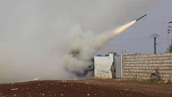 Nach tagelangen Kämpfen schweigen nun die Waffen im syrischen Idlib. (Archivbild)