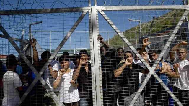 Flüchtlingslager auf der griechischen Insel Samos (Archiv)